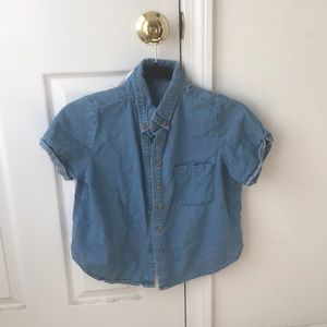 Brandy Melville short sleeved button up